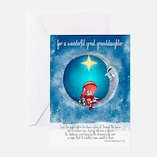 Great Granddaughter Christmas Greeting Card