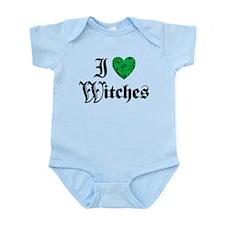 I Love Witches Onesie