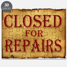 CLOSED SIGN Puzzle