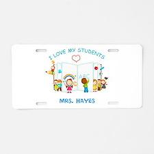 Custom Teacher Aluminum License Plate