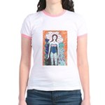 Cute RawGirl Ringer T--comes in 3 colors