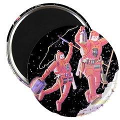 Moon Walk Magnet