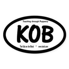 "NEW KOB ""Teaching..."" Oval Decal"