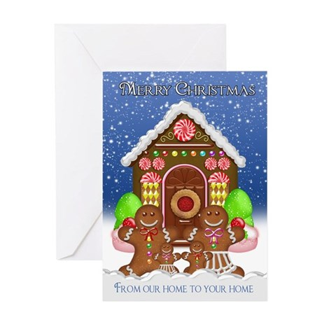 From our home to your home Gingerbread Family Gree