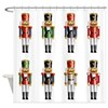 Nutty Nutcrackers Shower Curtain