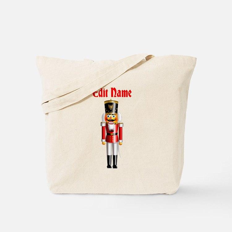 Personalized Nutcracker Tote Bag