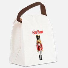 Xmas Nutcracker Canvas Lunch Bag
