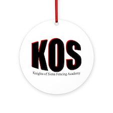 KOS Ornament (Round)
