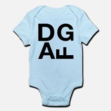 DGAF Black Infant Bodysuit