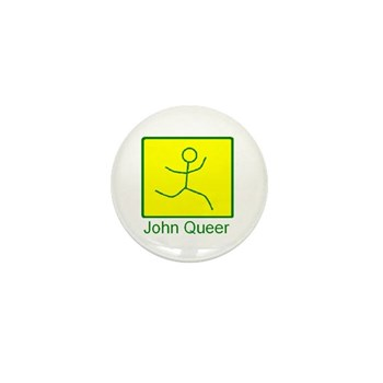 john queer Mini Button