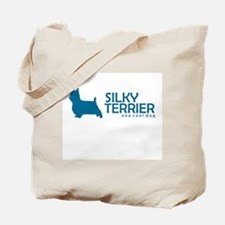 """Silky Terrier """"One Cool Dog"""" Tote Bag"""
