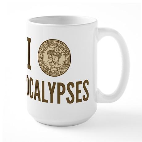 I Love Apocalypses Large Mug