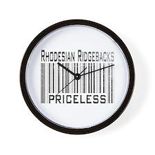 Rhodesian Ridgeback Dog Owner Wall Clock
