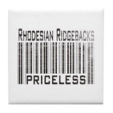 Rhodesian Ridgeback Dog Owner Tile Coaster