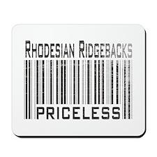 Rhodesian Ridgeback Dog Owner Mousepad