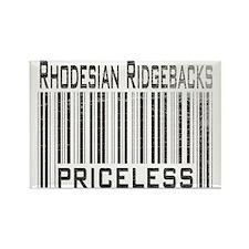 Rhodesian Ridgeback Dog Owner Rectangle Magnet