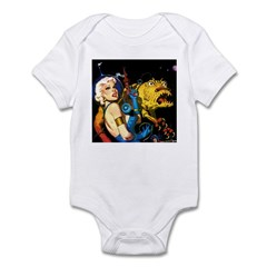 The Moondog and His Mistress Infant Bodysuit