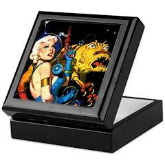 The Moondog and His Mistress Keepsake Box