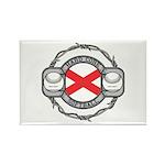 Alabama Softball Rectangle Magnet (100 pack)