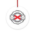 Alabama Softball Ornament (Round)