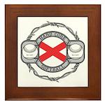 Alabama Softball Framed Tile