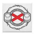 Alabama Softball Tile Coaster