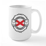 Alabama Softball Large Mug