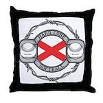 Alabama Softball Throw Pillow