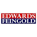 Edwards-Feingold 2008 bumper sticker