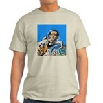 The Nerd From Outer Space Ash Grey T-Shirt