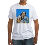 The Nerd From Outer Space Fitted T-Shirt