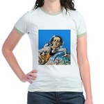 The Nerd From Outer Space Jr. Ringer T-Shirt