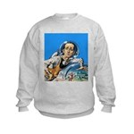 The Nerd From Outer Space Kids Sweatshirt