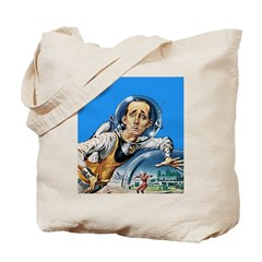 The Nerd From Outer Space Tote Bag