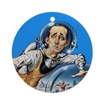 The Nerd From Outer Space Ornament (Round)