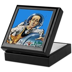 The Nerd From Outer Space Keepsake Box