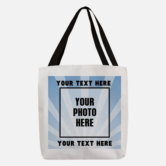 Personalized Sports Polyester Tote Bag