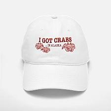 I GOT CRABS IN ALASKA Baseball Baseball Cap