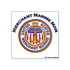 Merchant marine Mom Rectangle Sticker