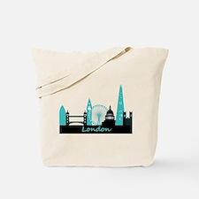 London landmarks Tote Bag