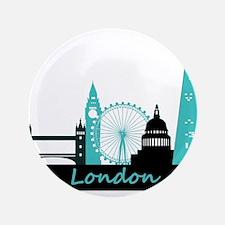 "London landmarks 3.5"" Button"