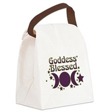 Goddess Blessed Canvas Lunch Bag