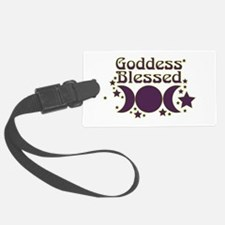 Goddess Blessed Luggage Tag