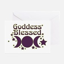 Goddess Blessed Greeting Cards (Pk of 20)