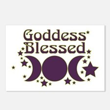 Goddess Blessed Postcards (Package of 8)