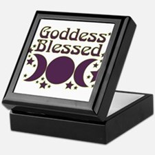 Goddess Blessed Keepsake Box