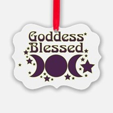 Goddess Blessed Ornament