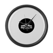 Large Wall Clock, 1959 Pontiac.