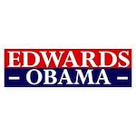 Edwards-Obama 2008 bumper sticker