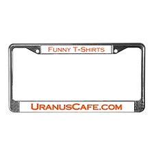 UranusCafe.com License Plate Frame
